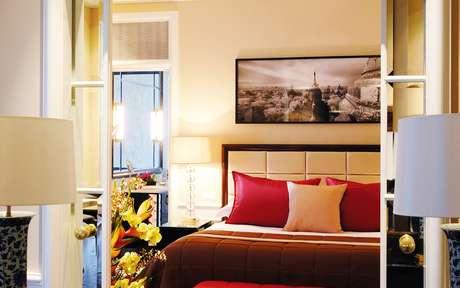 Quartos mais caros do hotel suíço foram reservados aos dirigentes da Fifa