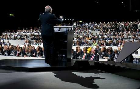 65º Congresso da Fifa elege o novo presidente da entidade, que ficará cargo até 2019