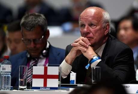 Greg Dyke é o presidente da federação inglesa e não votou em Blatter
