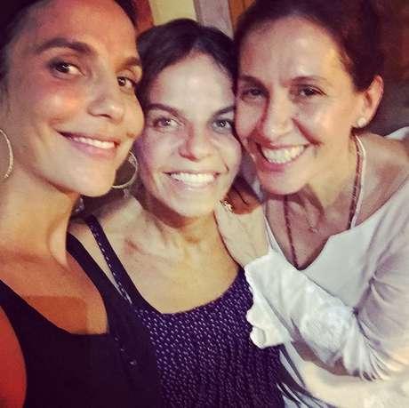 Ivete Sangalo, Flora Gil e Cynthia Sangalo