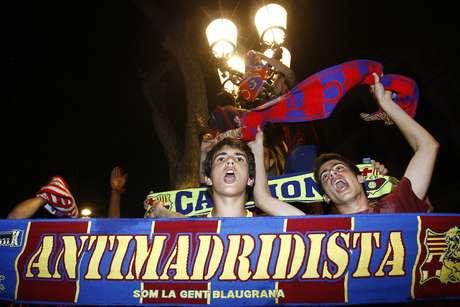 Torcida catalã se uniu à basca para vaiar o hino espanhol na final da Copa do Rei