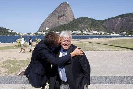 Jérôme Valcke e Ricardo Teixeira em foto de 2010: negociações entre os dirigentes será investigada