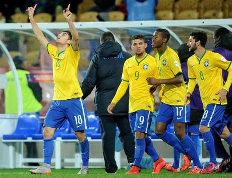 Brasil virou jogo com gol de Andreas Pereira aos 41min do segundo tempo