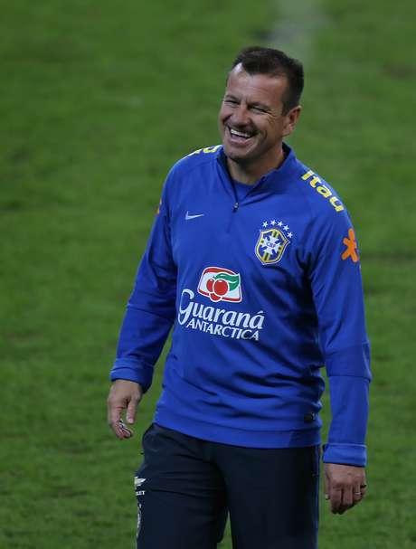 Dunga prepara o Brasil para amistoso em São Paulo