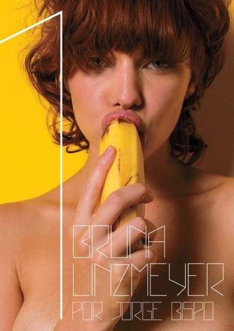 Bruna Linzmeyer aparece sexy em capa de ensaio nu