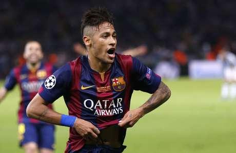 Neymar teve ótima atuação na final contra a Juventus