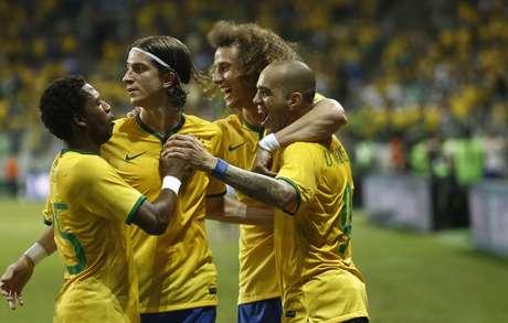 Brasil fez um bom primeiro tempo, mas caiu de ritmo na etapa final contra México