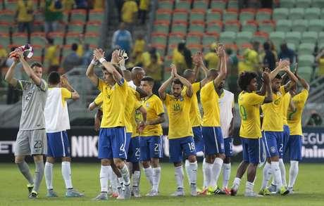 Elenco da Seleção agradece o carinho do público no Allianz Parque