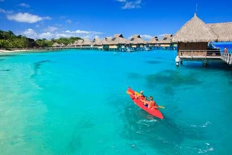 Ilhas da Polinésia Francesa são boas para prática de esportes aquáticos