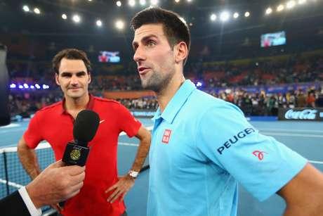 Novak Djokovic e Federer não se dão bem, de acordo com Boris Becker