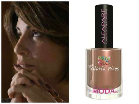 O esmalte marrom da Beatriz (Gloria Pires), de 'Babilônia', ficou em primeiro lugar. É a cor Nude Moreno (010), da coleção BemGlô, da Alta Moda É... Preço: R$ 7. Informações: 0800-0212652