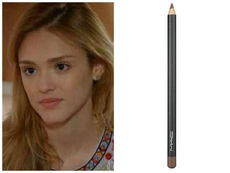 Na nona posição, batom rosa-claro da Júlia (Isabelle Drummond), de 'Sete Vidas'. É o lápis labial Spice, da M.A.C. Preço: R$ 66. Informações: 0800-8921695