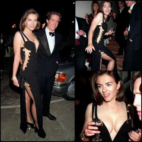 Elizabeth Hurley dress in the Funeral Premiere