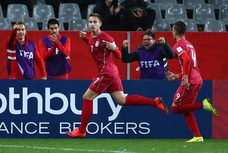 Sérvia fez 2 a 1 sobre a Hungria nas oitavas de final do Mundial Sub-20