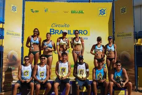 Vôlei de praia - Circuito Sub-23 - Etapa Campo Grande