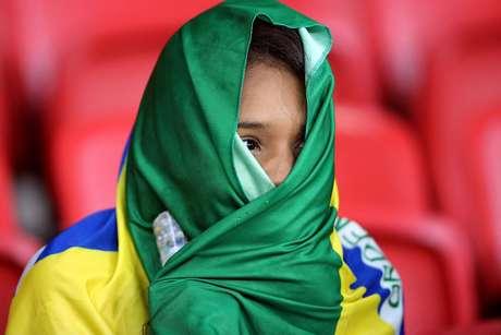 Torcedores fizeram silêncio no Beira-Rio durante quase todo o amistoso desta quarta-feira