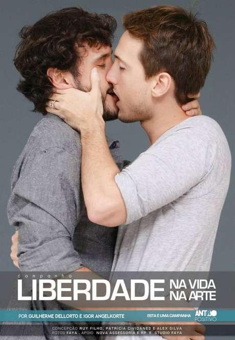 Guilherme Dellorto e Igor Angelkorte, da novela 'Babilônia'