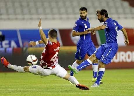 Croácia e Itália se enfrentaram neste fim de semana pelas Eliminatórias da Euro