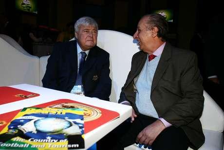 Ricardo Teixeira e Marco Polo Del Nero: polêmicos dirigentes do futebol brasileiro