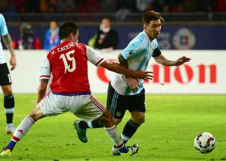 Messi recusou a premiação de melhor em campo no primeiro jogo da Copa América
