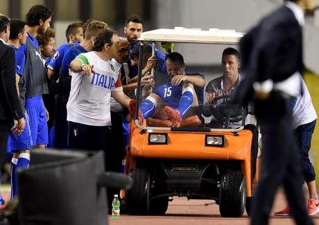 Lorenzo de Silvestri sofreu lesão séria no joelho