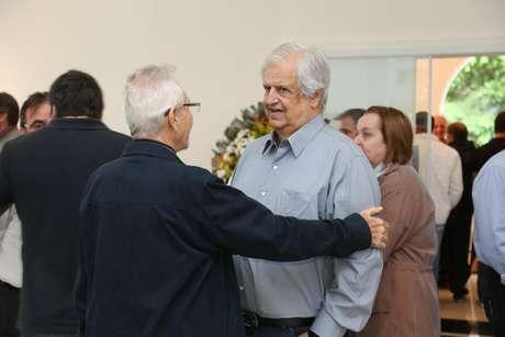 Presidente do Santos, Modesto Roma Júnior se emocionou ao se despedir de Zito