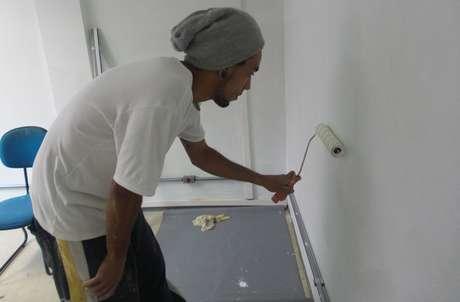 Diego Soares, de 33 anos, o grafiteiro Digo