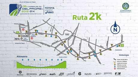 Aquí la ruta del medio maratón del Día del Padre.