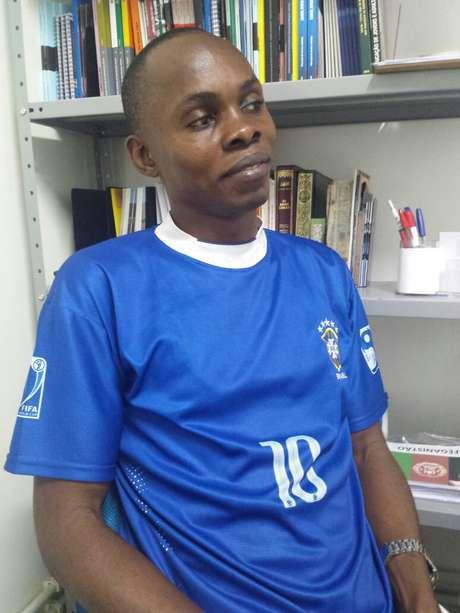 Jean Katumba Mulondayi, de 36 anos, da República Democrática do Congo