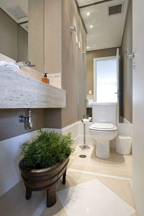 Lavabo veja 8 dicas para decorar e ampliar o banheiro for Fotos lavabos pequenos