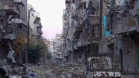 Cidade de Aleppo, na Síria, é uma das mais antigas do mundo, mas sofre com guerra há mais de 3 anos