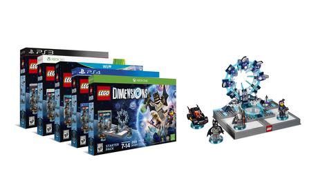 El 'Starter Kit' de 'LEGO Dimensions' para PS3, PS4, XBO, X360 y Wii U.