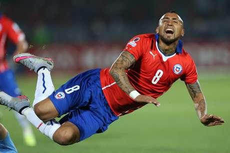 Chilenos sofreram com as entradas duras dos uruguaios