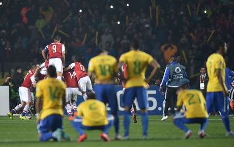 Seleção Brasileira lamenta eliminação nos pênaltis na Copa América