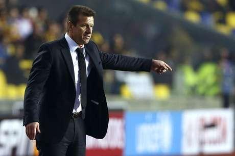 Dunga manteve a mesma equipe que começou contra a Venezuela