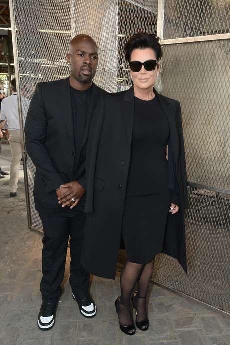 Kris Jenner garantiu seu lugar na primeira fila