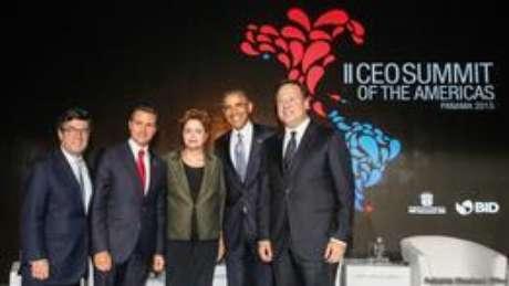 Dilma e Obama se encontraram na Cúpula das Américas em abril deste ano no Panamá