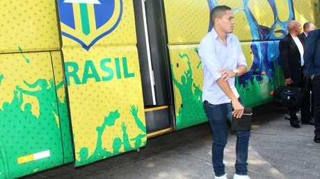 Seleção Brasileira de Futebol se apresentou nesta segunda na Granja Comary