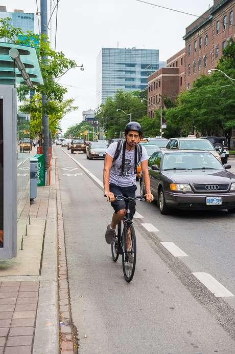 Uso de bicicletas é tendência em Toronto