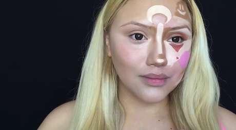 Veja como o rosto ganhou novos contornos