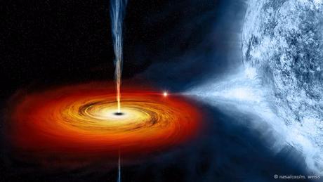 O pulso gravitacional dos buracos negros é tão forte que atrai até a luz