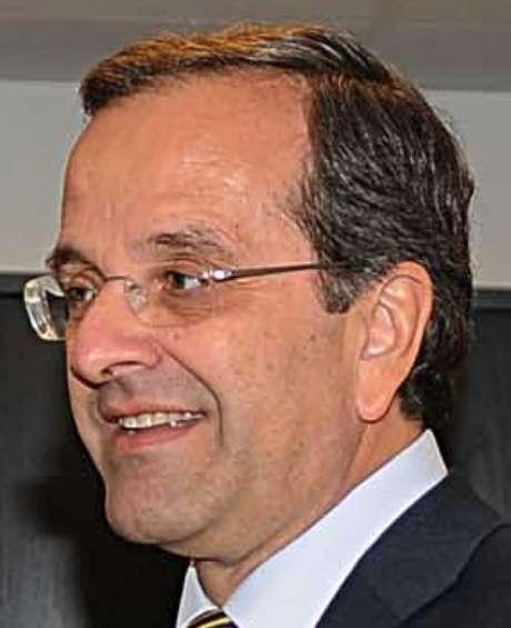 Samaras renunciou na liderança da oposição na Grécia