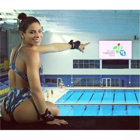 Foto fez Ingrid ganhar apelido de musa brasileira