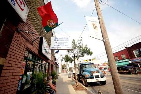 Na região oeste do Centro de Toronto, a Little Portugal reúne zona comercial com forte influência de portugueses e brasileiros