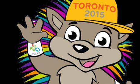 O porco-espinho Pachi é a mascote do Pan de Toronto
