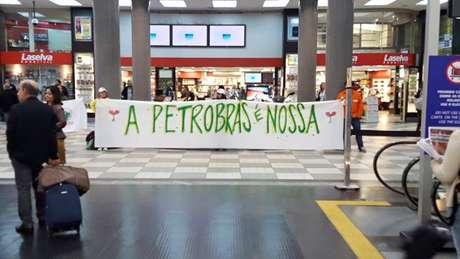 Protestos ocuparam vários aeroportos do Brasil