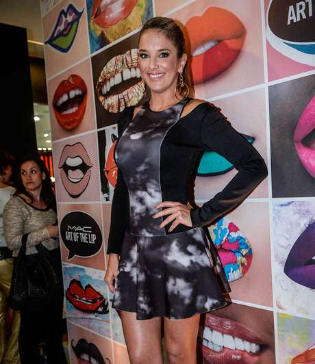 A apresentadora Ticiane Pinheiro