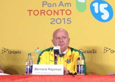 Bernard quer superar número de medalhas conquistadas em Guadalajara em 2011