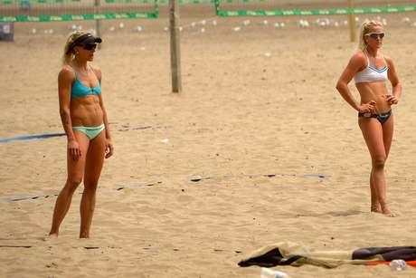 Durante os Jogos Pan-Americanos 2015, moradores de Toronto, no Canadá, aproveitaram o sol do Verão do hemisfério norte para curtir a praia de Woodbine e os parques da cidade