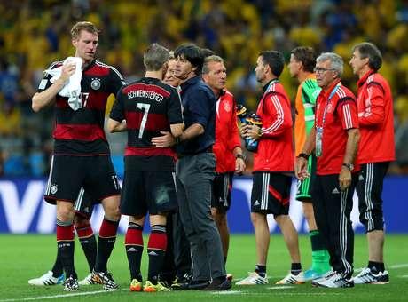 Joachim Löw admitiu que ficou surpreso com o 5 a 0 alemão no primeiro tempo